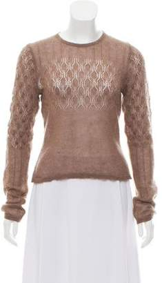 Dries Van Noten Mohair Blend Sweater