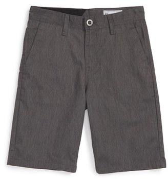 Boy's Volcom Chino Shorts $40 thestylecure.com