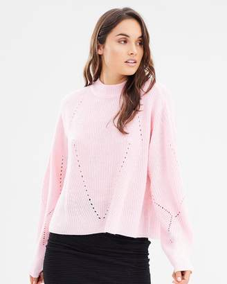 Vero Moda Rachel Joya Spring Long Sleeve Wrap Back Knit