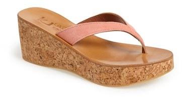 K Jacques St Tropez K.Jacques St. Tropez 'Diorite' Wedge Sandal (Women)