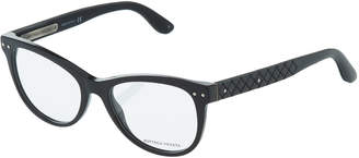 Bottega Veneta Two-Tone Modified Cat-Eye Optical Glasses