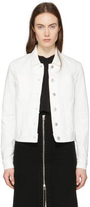 Acne Studios Bla Konst White Cliff Denim Jacket