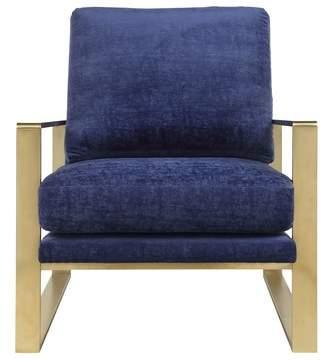 Everly Quinn Boswell Velvet Armchair