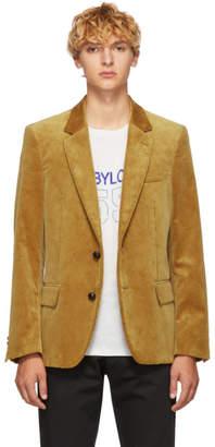 Golden Goose Tan Corduroy Blazer