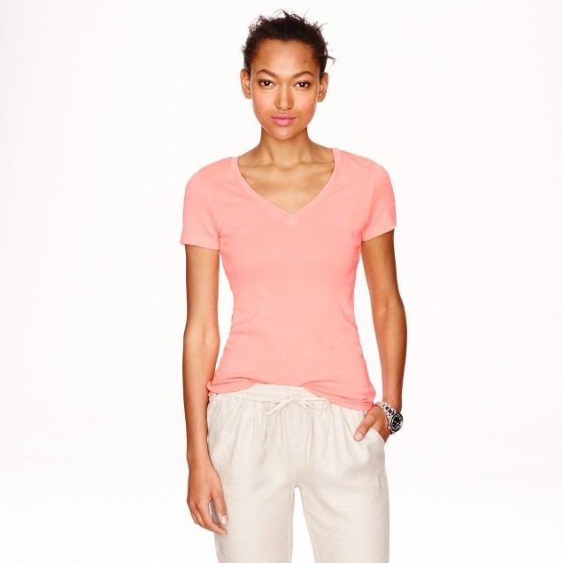 Perfect-fit V-neck T-shirt
