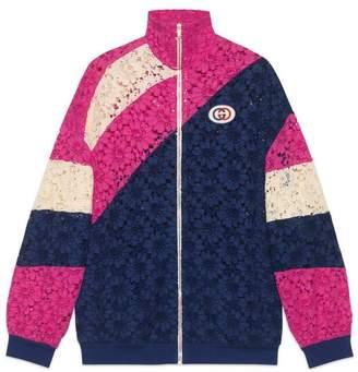 Gucci Floral lace jacket