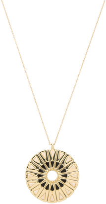 House of Harlow Heirloom Pendant Necklace $86 thestylecure.com