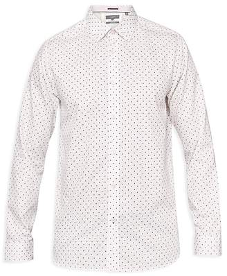 Ted Baker Saandy Polka Dot Phormal Regular Fit Dress Shirt