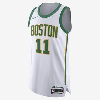 Nike Kyrie Irving City Edition Authentic (Boston Celtics) Mens NBA Connected Jersey