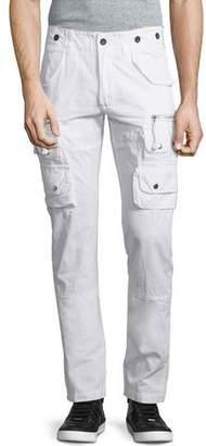 PRPS Slim-Fit Cargo Pants, White $325 thestylecure.com