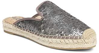 Sam Edelman Women's Kerry Sequined Espadrille Mules