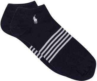 Ralph Lauren Striped Sneaker Socks (Pack of 3)