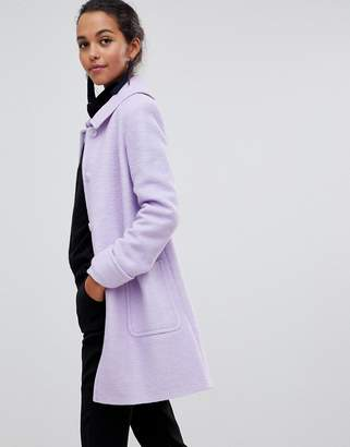 Helene Berman Helene Bermal Swing Coat in Wool Blend