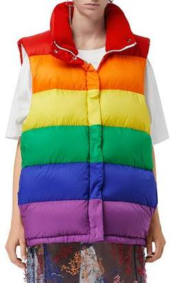 Burberry Rainbow Down-Filled Gilet
