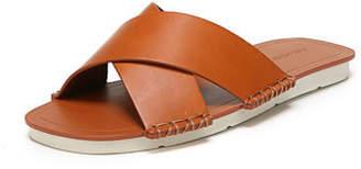 Vince Nico Flat Crisscross Slide Sandals