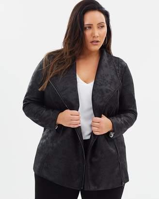 Stormborn Asymmetric Zip Jacket