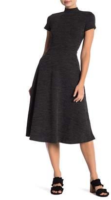 Vanity Room Short Sleeve Knit A-Line Dress