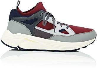 Brandblack Men's BNY Sole Series: Aura Knit & Leather Sneakers