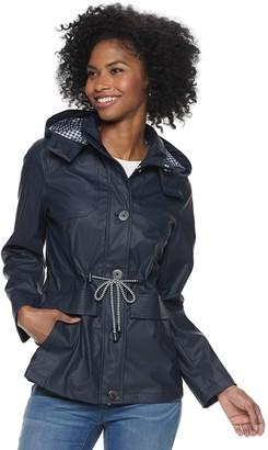 Women's Weathercast Hooded Anorak Rain Jacket