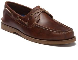 Sperry Leeward Cross Lace Leather Loafer