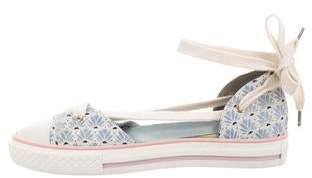 RED Valentino Canvas d'Orsay Sneakers