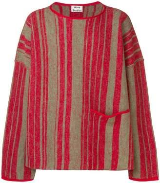 Acne Studios boat neck sweater