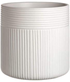 H&M Large ceramic plant pot - White