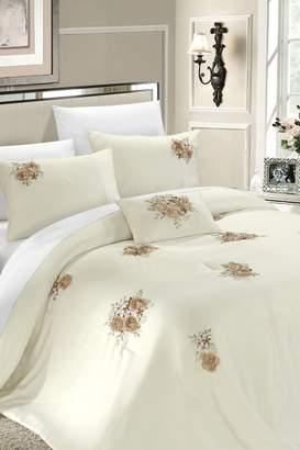 Rossie Beige Comforter Set