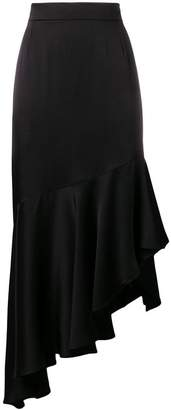Semi-Couture Semicouture asymmetric skirt