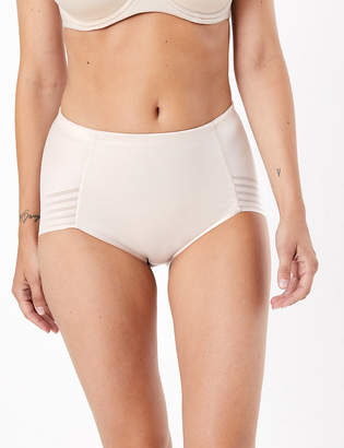 Marks and Spencer Firm Control No VPL High Leg Knickers