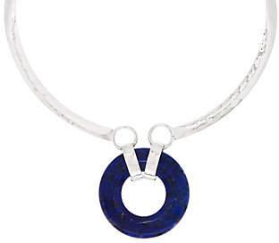 Robert Lee Morris RLM Jewelry by RLM Bronze Gemstone Collar Necklace