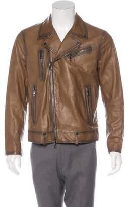 John Varvatos 2018 Leather Moto Jacket w/ Tags