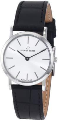 Pierre Petit Women's Quartz Watch Nizza P-788B with Leather Strap
