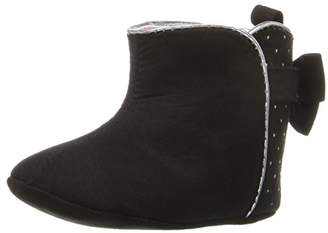 ABG Baby Girls' W/ Dots and Bow Boot