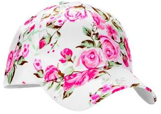 No Boundaries Women's Floral Bouquets Satin Baseball Hat
