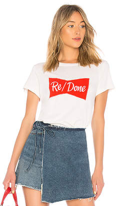 RE/DONE Ribbon Graphic Classic Tee
