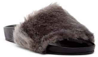 Raye Sirius Faux Fur Slide Sandal