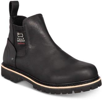 Woolrich Men Skookum Waterproof Leather Chelsea Boots Men Shoes
