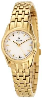 Bulova Women's 97L111 Bracelet Silver White Dial Watch