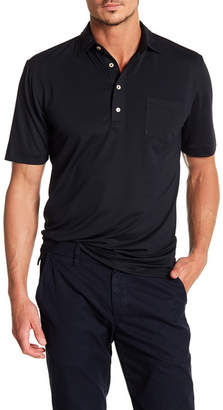 Peter Millar Solid Stretch Mesh Pocket Polo