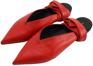 Pre-Owned at Vestiaire Collective · Celine Red Leather Ballet flats 2866c60444