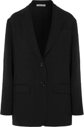 Bottega Veneta Oversized Crepe Blazer - Black