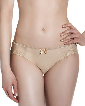 Simone Perele Andora Cotton-Blend Bikini Briefs