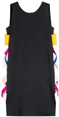MSGM Cocktail Dress with Contrast Side Panel