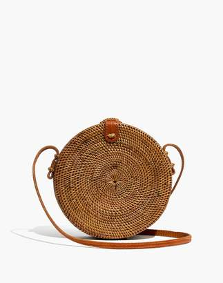Madewell Folk Fortune Bali Rattan Roundie Bag