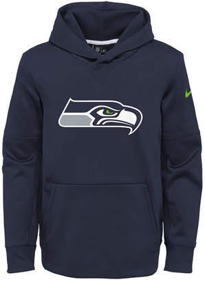 Nike Seattle Seahawks Circuit Logo Hoodie, Big Boys (8-20)