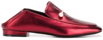 Coliac pearl embellished loafers