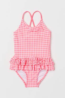 H&M Swimsuit with flounces