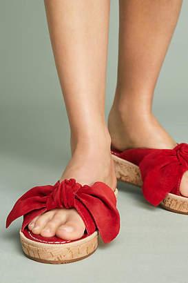 Bernardo Petra Bow Slide Sandals