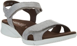 Mephisto Leather Quarter Strap Sandals - Francesca